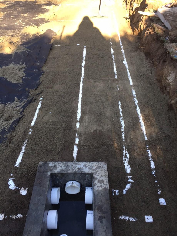 Stone Septic System Installation - Sherburn Circle, Weston ...