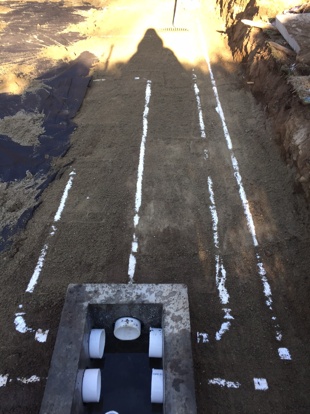 Neatly Piped Distribution Box - Northboro Septic, Inc